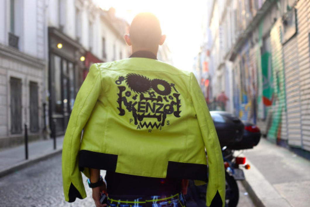 While in Paris, I had the opportunity to make friends with the head of PR for Kenzo and collaborate on this Pre-Fall collection post.