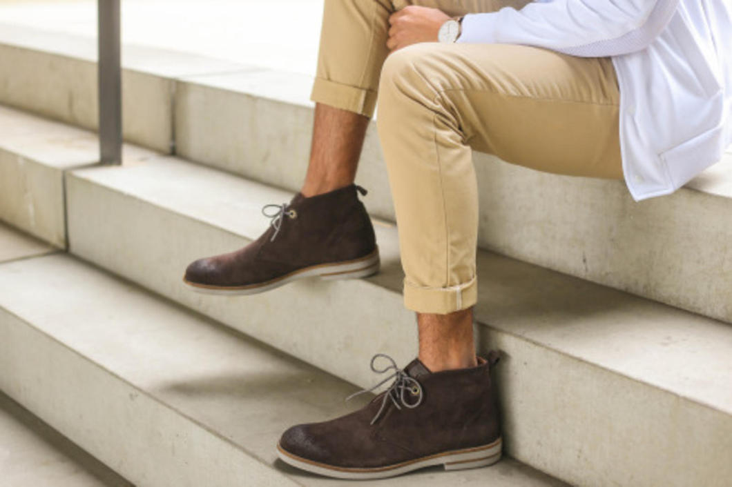 It's chukka boot season guys! Bust out your khakis, roll up those cuffs, and wear that added heel like a boss.