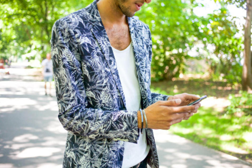 My first outfit of four during Berlin's Spring/ Summer 2016 fashion week is appropriately kicked off in a floral blazer.