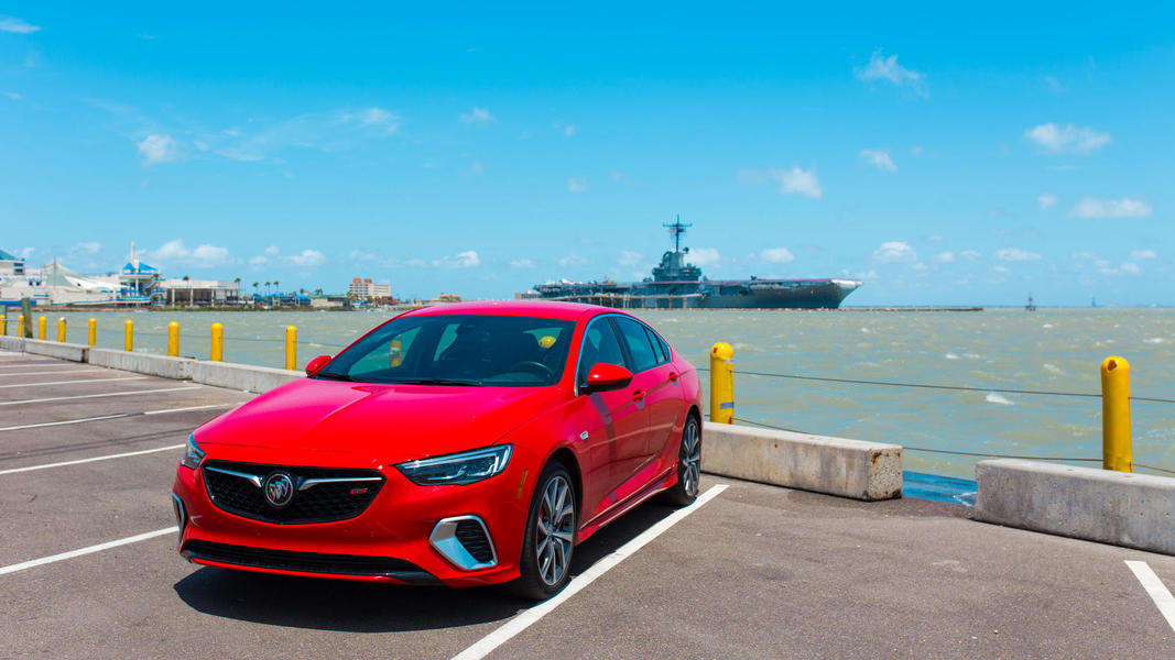 Driving in sporty style from San Antonio to Corpus Christ in Buick's 2019 Regal GS.