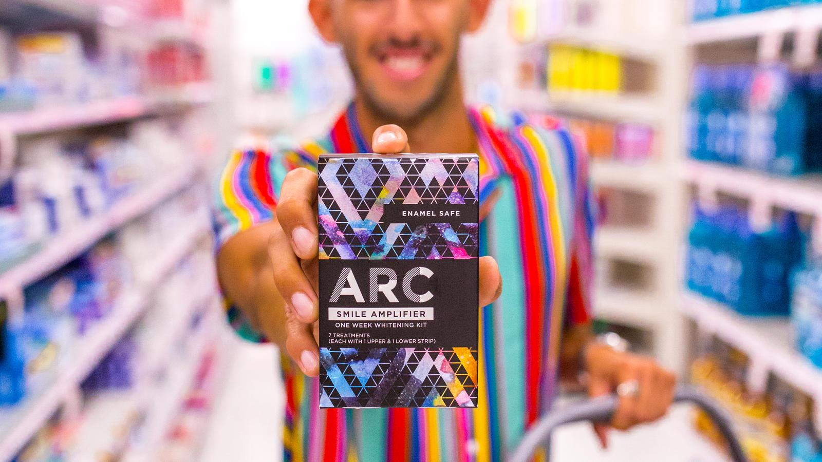 Arc Whitening Strips Moment Blueperk By Freddy Rodriguez